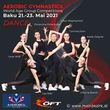 Sportaerobic: Viktoria Brandl und Lea Robl vierte der Juniorenweltmeisterschaft in Aero Dance - meinbezirk.at