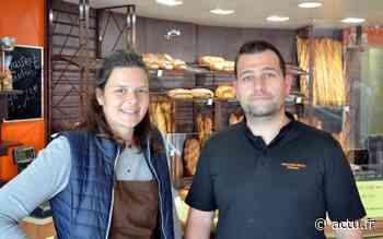 Virginie et Alexandre ont repris la boulangerie Mauger à Mondeville - actu.fr
