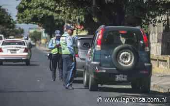 Más de 67 millones de córdobas salen de los conductores en tres meses vía multas de tránsito, según cifras de Hacienda - La Prensa (Nicaragua)