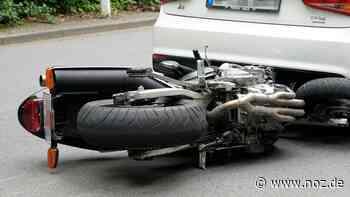 Motorradfahrer rutscht in Bad Essen unter ein Auto - noz.de - Neue Osnabrücker Zeitung