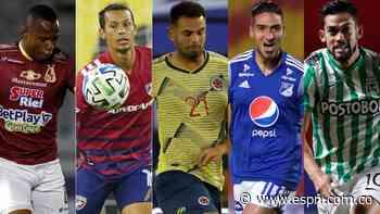 Con la baja de Juanfer Quintero: ¿Cardona, Andrade, Ricaurte, Campaz, Arango, hacen fila para Selección? - ESPN