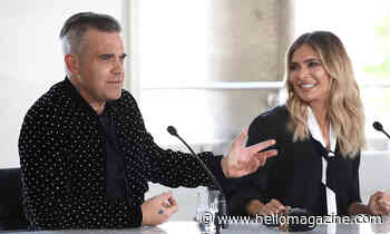 Ayda Field and Robbie Williams melt hearts with adorable new video of Coco - HELLO!