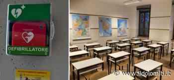 """""""Un defibrillatore in tutte le scuole di Mezzolombardo"""", la proposta al Comune. """"A Lodi ha salvato un ragazzo. Aumenta le chance di sopravvivenza del 70%"""" - il Dolomiti"""