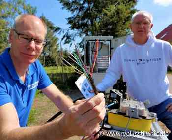 Glasfaser-Leitungsbau abgeschlossen Schnelles Internet in Ilsenburg - Volksstimme