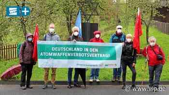 Friedenswanderer von Bad Berleburg enttäuscht - Westfalenpost