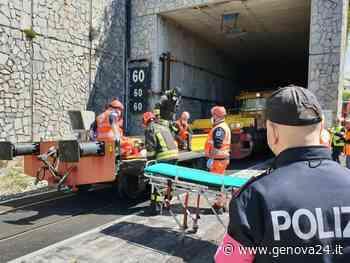 Voltri, esercitazione in galleria in vista dell'attivazione del binario merci pericolose - Genova24.it