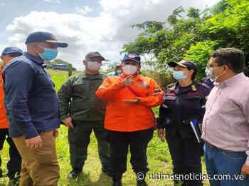 Protección Civil inspeccionó dique de contención en Tucupita - Últimas Noticias