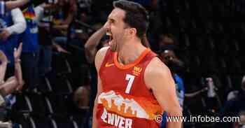 NBA: un lujoso pase de caño y puntos claves, el aporte de Facundo Campazzo para que Denver Nuggets nivele la serie ante Portland Trail Blazers - infobae