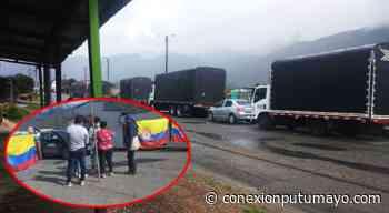 Nuevo bloqueo en San Juan de Villalobos, Cauca no permite paso de transporte de carga hacia el Putumayo - Conexión Putumayo
