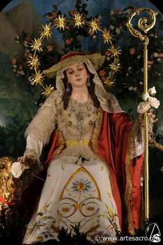 Cultos para el mes de Mayo en el Convento de Santa Rosalía - Arte Sacro