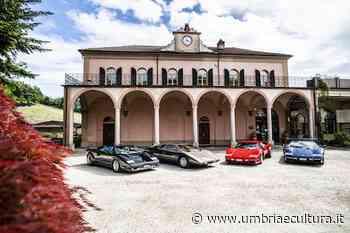 La Lamborghini 4 Countach al Villaggio Narrante in Fontanafredda - Umbria e Cultura