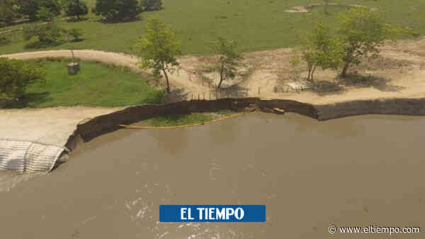 $90 mil millones para atender erosión fluvial que amenaza a Salamina - El Tiempo