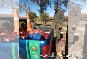 Dos detenidos por abigeato en San Jerónimo Norte - Esperanza DíaXDía