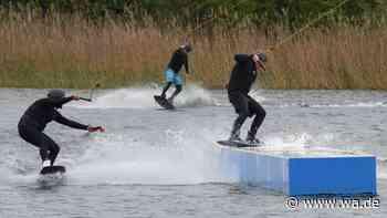Sport auf Abstand: Wasserski-Anlage in Hamm läuft als Einzelsport-Event – bald auch mit Publikum? - Westfälischer Anzeiger