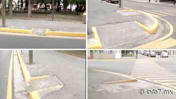 Parque Las Arboledas de San Nicolás carece de señalética para invidentes - info7 - INFO7 Noticias