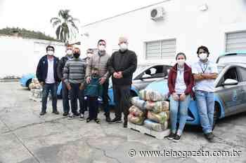 Secretaria de Assistência Social de Guararema entrega 60 cestas básicas para famílias em vulnerabilidade - Leia o Gazeta