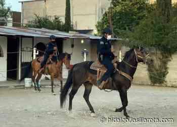 Integran a caballos al equipo de seguridad de Mixquiahuala - La Silla Rota