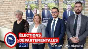 Départementales : le RN joue la sécurité pour garder le canton d'Harnes - La Voix du Nord