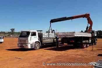 DF Legal apreende materiais de construção em via pública de Sobradinho - Correio Braziliense