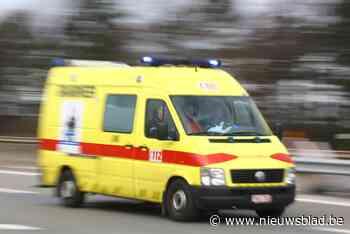 Vrouw zwaargewond bij ongeval