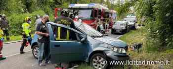 Carate Brianza: auto con quattro ventenni si ribalta in via Trento e Trieste, feriti - Il Cittadino di Monza e Brianza