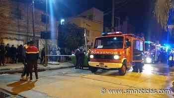 Incendio en varias casillas del barrio Uruguay, en la localidad de Beccar - SMnoticias