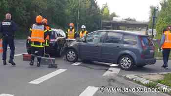 Saint-Laurent-Blangy : collision entre deux voitures, un blessé léger - La Voix du Nord