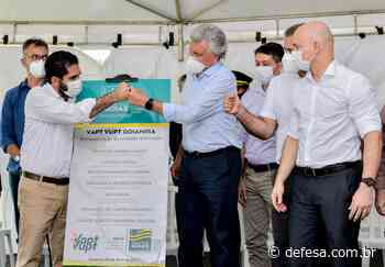 Inaugurada reforma do Vapt Vupt de Goianira - Defesa - Agência de Notícias