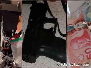 Two charged after OPP seizes suspected cocaine, handgun in Arnprior - Ottawa Citizen