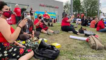 Vanier residents protest $2.9M tax break for Porsche dealership - CBC.ca
