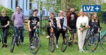 """Jugend-Domizil """"Habitat"""" in Borna freut sich über neue Fahrräder - Leipziger Volkszeitung"""