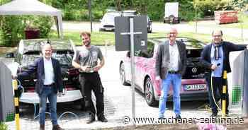 E-Mobilität in Herzogenrath: Ladesäulen am Nell-Breuning-Haus - Aachener Zeitung