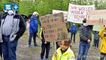 Wilnsdorf: Rinsdorfer protestieren gegen Gewerbegebiet - Westfalenpost