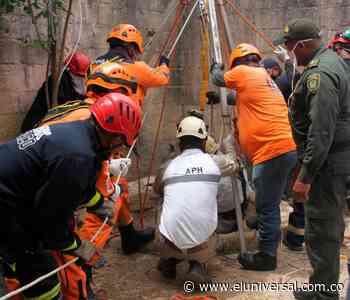 Dos horas tardaron en rescatar cuerpo de mujer en pozo de Turbaco - El Universal - Colombia