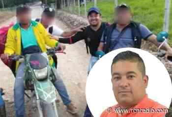 Liberan a líder social que había sido secuestrado en el Tarra, Norte de Santander - RCN Radio