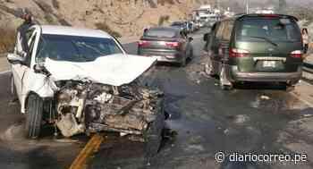 Matucana: nueve heridos por accidente de tres vehículos en Carretera Central - Diario Correo