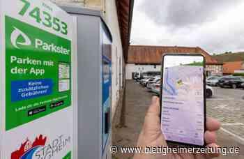 Parkgebühren per Smartphone-App in Besigheim: Parkschein gibt es künftig digital - Bietigheimer Zeitung