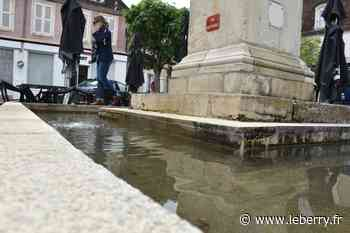 A Saint-Amand-Montrond, les fontaines crachent à nouveau de l'eau - Le Berry Républicain