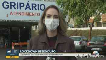 Em confinamento, Bebedouro, SP, fecha supermercados nesta segunda-feira (24) - G1