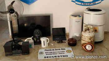 Desvalijaron casa en San Benito: Recuperaron parte de lo robado - Elonce.com
