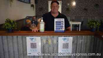 Ready for QR Code changes - Latrobe Valley Express