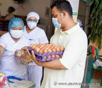 En Sincelejo sigue tercera entrega de alimentos del PAE - El Universal - Colombia