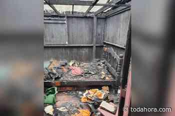 Em Coari, aposentado morre carbonizado durante incêndio - Toda Hora