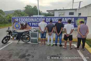 """Cae banda delictiva """"Papillón"""" en Guacara - El Carabobeño"""