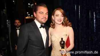 Emma Stone war als Teenie in Leonardo DiCaprio verliebt - Promiflash.de