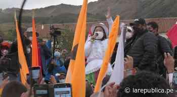 Cusco: Keiko Fujimori realizó mitin en Anta en medio de arengas y rechazo - LaRepública.pe