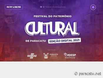 8º Festival do Patrimônio Cultural de Paracatu começa em 1º de julho - Notícias - paracatu.net