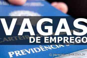 Sine de Paracatu oferece mais de 30 vagas de emprego com salários de até R$ 2.860 - Paracatunews