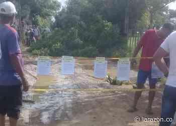 Habitantes de Severá, en Cereté, reclaman arreglo de vía - LA RAZÓN.CO