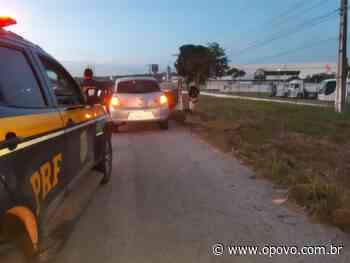 PRF recupera veículo roubado e prende suspeitos em Itaitinga - O POVO